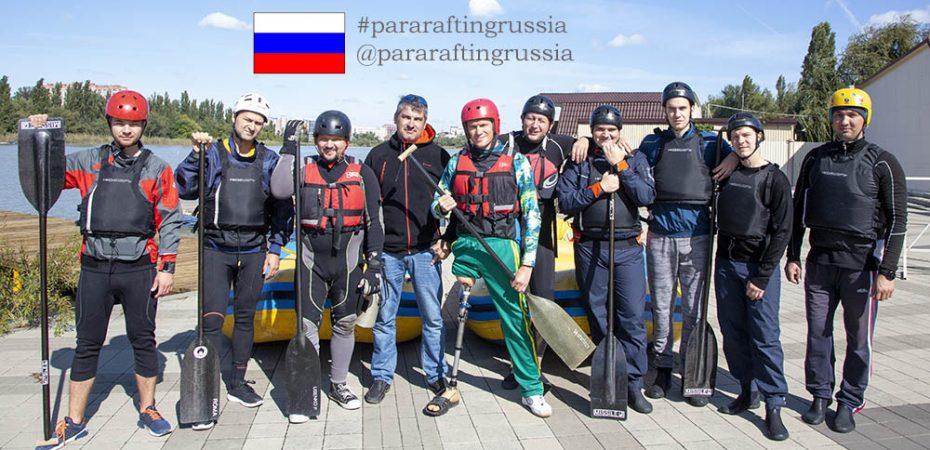 Спортивная сборная команда по пара-рафтингу готовится к чемпионату мира…