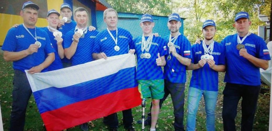 Первый чемпионат мира и первые чемпионы мира по пара-рафтингу ….